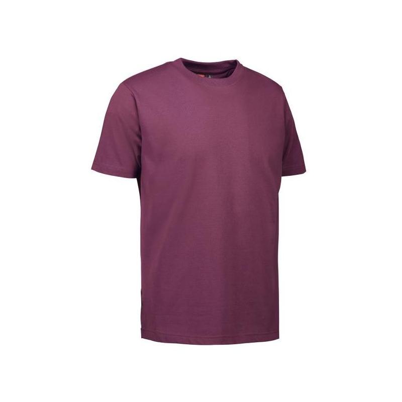 Heute im Angebot: PRO Wear Herren T-Shirt 300 von ID / Farbe: bordeaux / 60% BAUMWOLLE 40% POLYESTER jetzt günstig kaufen