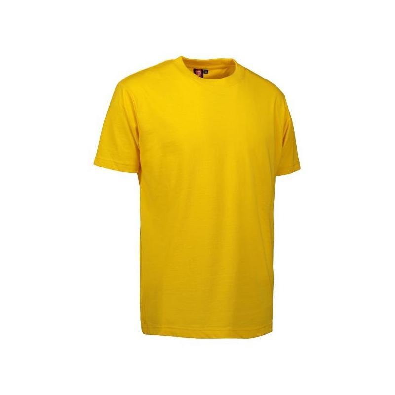 Heute im Angebot: PRO Wear Herren T-Shirt 300 von ID / Farbe: gelb / 60% BAUMWOLLE 40% POLYESTER