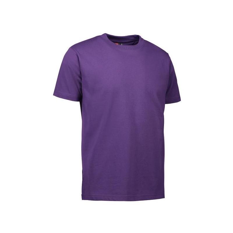 Heute im Angebot: PRO Wear Herren T-Shirt 300 von ID / Farbe: lila / 60% BAUMWOLLE 40% POLYESTER