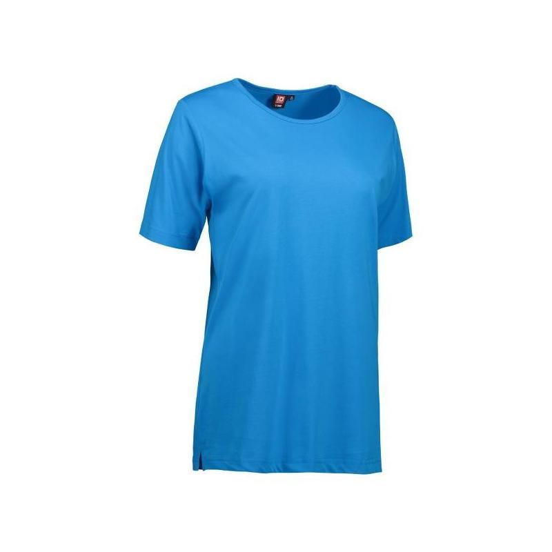 Heute im Angebot: T-TIME Damen T-Shirt 0512 von ID / Farbe: türkis / 100% BAUMWOLLE jetzt günstig kaufen