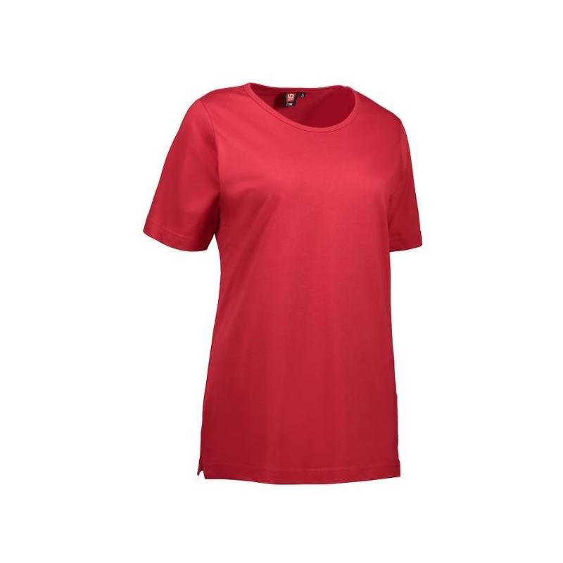 Heute im Angebot: T-TIME Damen T-Shirt 0512 von ID / Farbe: rot / 100% BAUMWOLLE in der Region Bottrop