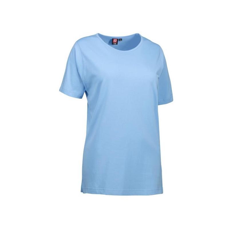 Heute im Angebot: T-TIME Damen T-Shirt 0512 von ID / Farbe: hellblau / 100% BAUMWOLLE jetzt günstig kaufen