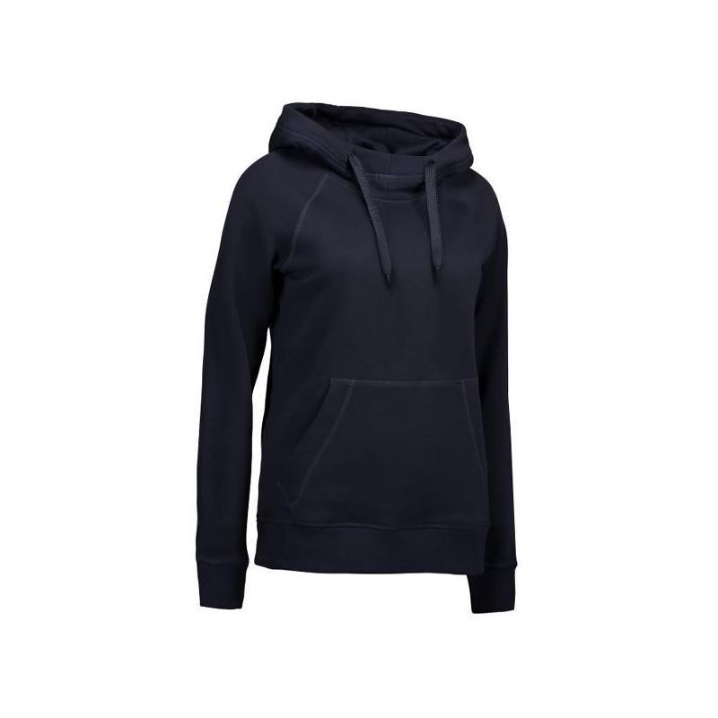 Heute im Angebot: CORE Hoodie (Damen) 0637 von ID / Farbe: navy / 60% BAUMWOLLE 40% POLYESTER jetzt günstig kaufen