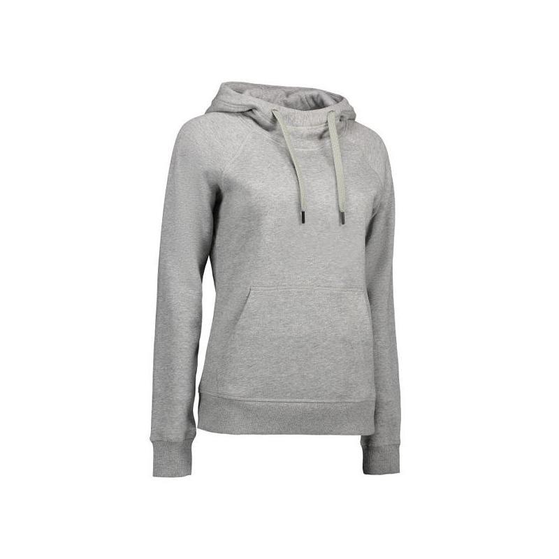Heute im Angebot: CORE Hoodie (Damen) 0637 von ID / Farbe: grau / 60% BAUMWOLLE 40% POLYESTER in der Region Bestensee