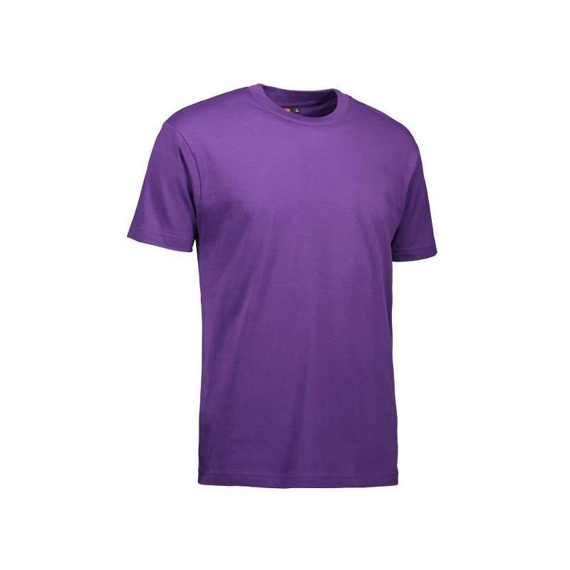 Heute im Angebot: T-Shirt 0500 von ID / Farbe: lila / 100% BAUMWOLLE jetzt günstig kaufen