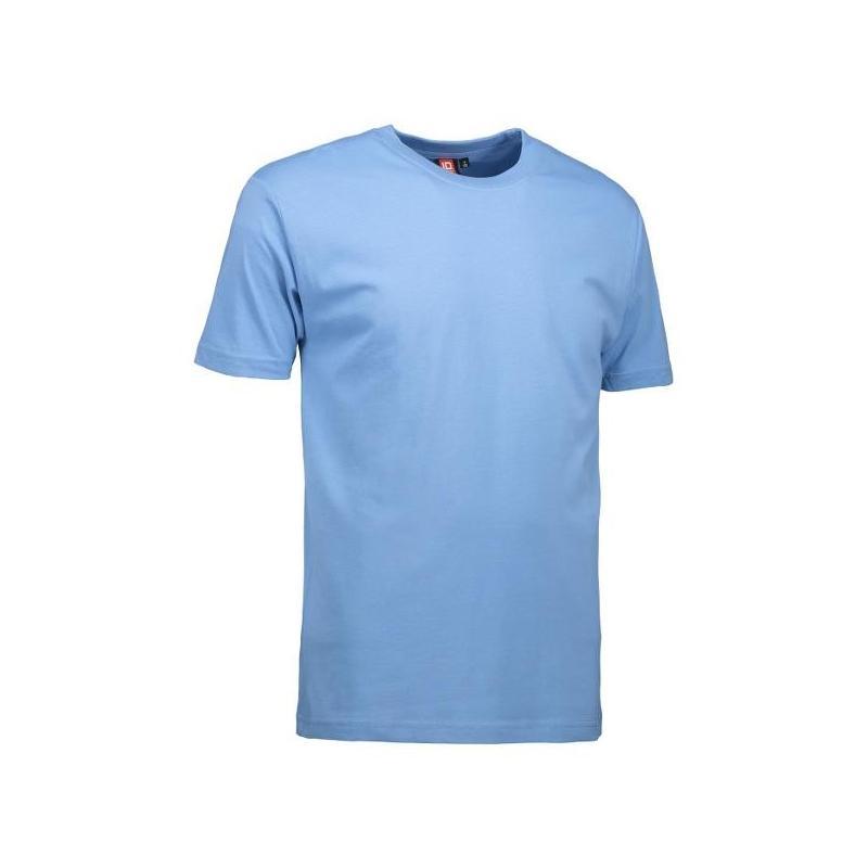 Heute im Angebot: T-Shirt 0500 von ID / Farbe: hellblau / 100% BAUMWOLLE