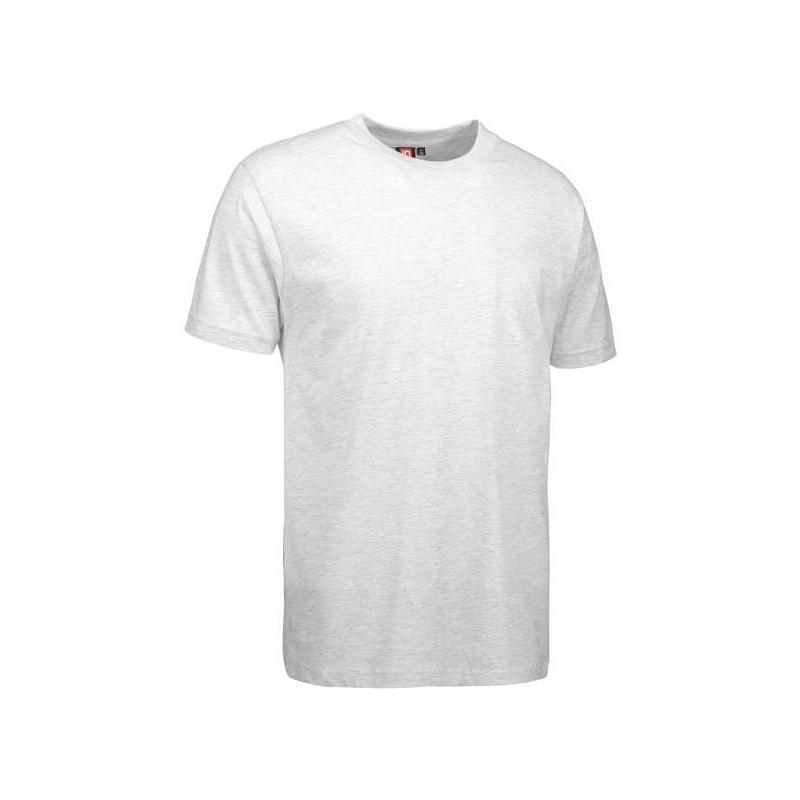 Heute im Angebot: T-Shirt 0500 von ID / Farbe: hellgrau / 100% BAUMWOLLE