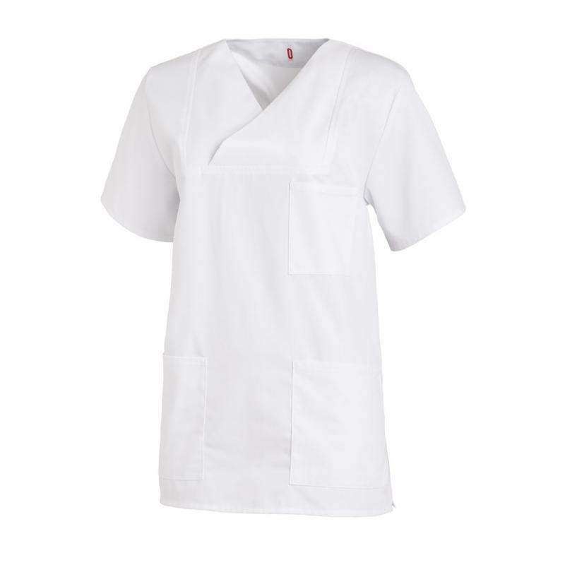 Heute im Angebot: Damen-Schlupfjacke 769 von LEIBER / Farbe: weiß / 50 % Baumwolle 50 % Polyester in der Region Ratingen