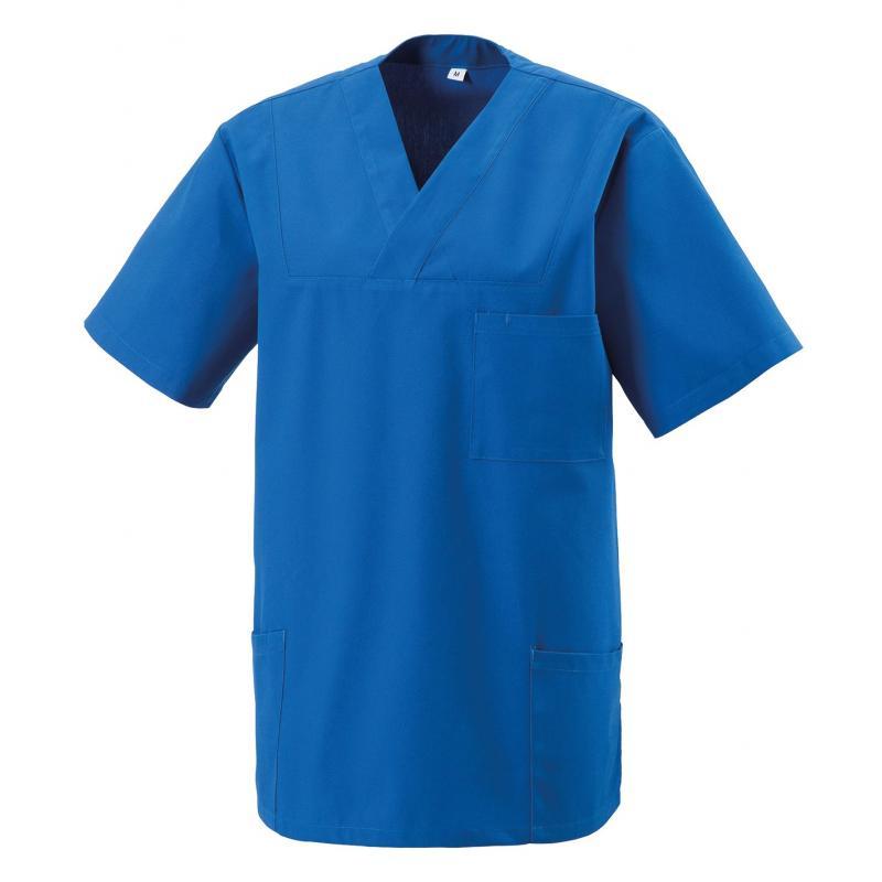 Heute im Angebot: Kasack 273 von EXNER / Farbe: royal-blau / 50% Baumwolle 50% Polyester 175 gr.