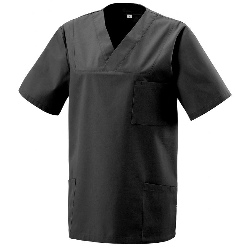 Heute im Angebot: Kasack 273 von EXNER / Farbe: schwarz / 50% Baumwolle 50% Polyester 175 gr.