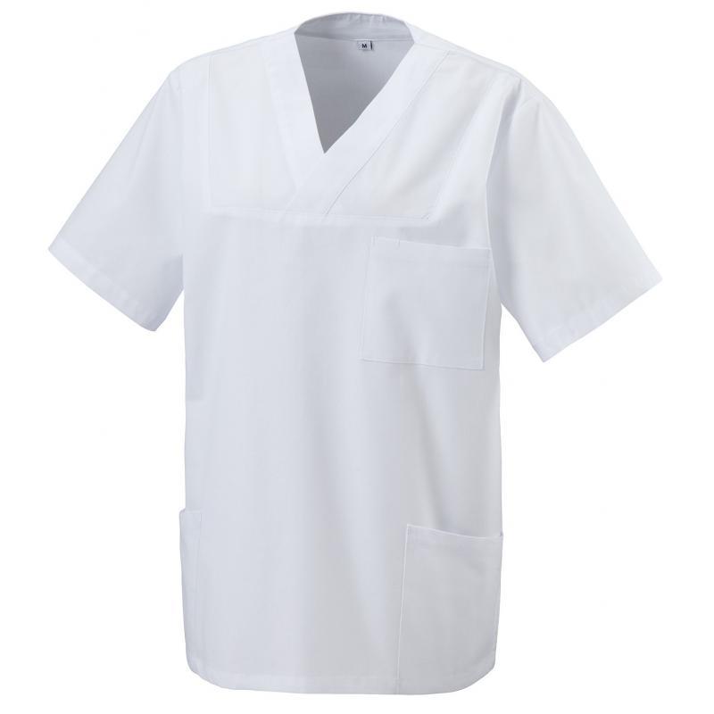 Heute im Angebot: Kasack 273 von EXNER / Farbe: weiß / 50% Baumwolle 50% Polyester 175 gr. jetzt günstig kaufen