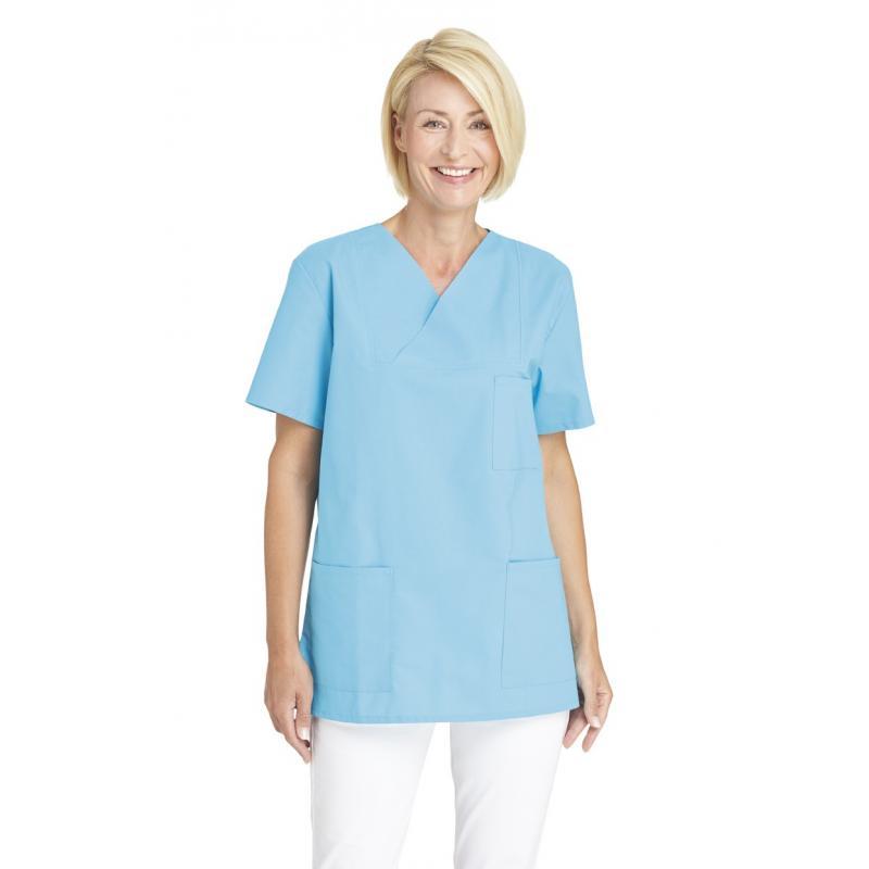 Heute im Angebot: Damen-Schlupfjacke 769 von LEIBER / Farbe: türkis / 50 % Baumwolle 50 % Polyester jetzt günstig kaufen