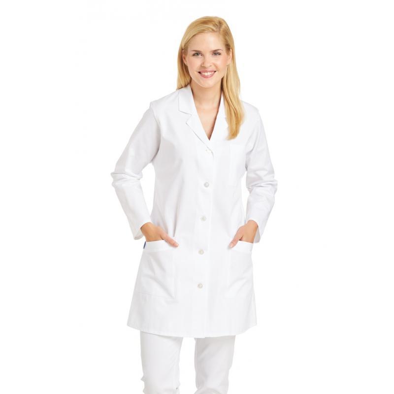 Heute im Angebot: Longkasack 471 von LEIBER / Farbe: weiß / 100 % Baumwolle Feinköper jetzt günstig kaufen