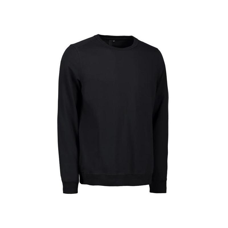 Heute im Angebot: Herren - Sweatshirt CORE O-Neck Sweat 615 von ID / Farbe: schwarz / 50% BAUMWOLLE 50% POLYESTER