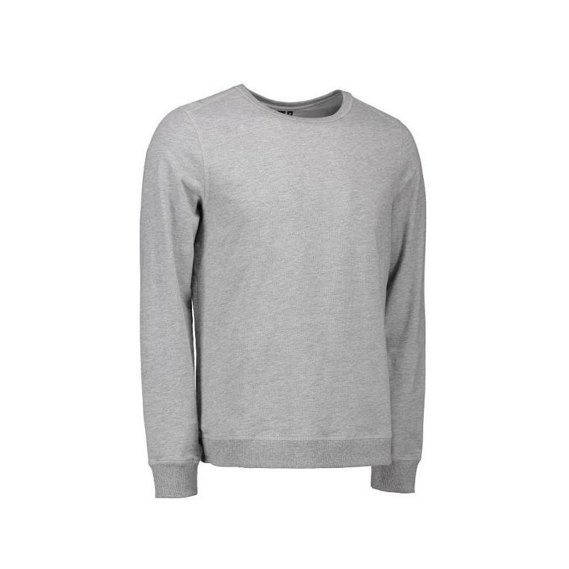 Heute im Angebot: Herren - Sweatshirt CORE O-Neck Sweat 615 von ID / Farbe: grau / 50% BAUMWOLLE 50% POLYESTER