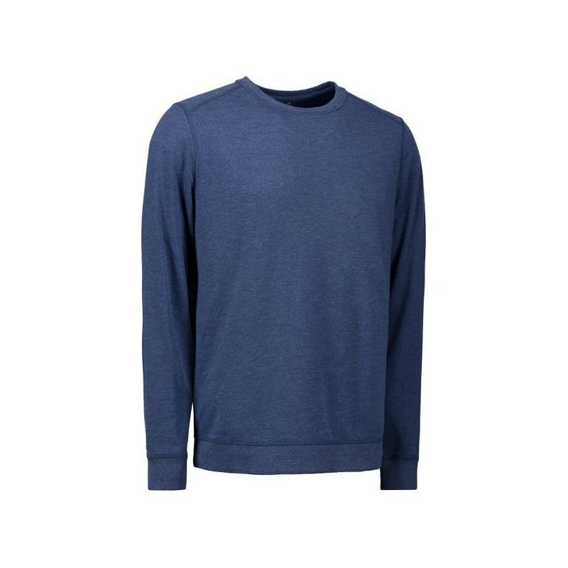 Heute im Angebot: Herren - Sweatshirt CORE O-Neck Sweat 615 von ID / Farbe: blau / 50% BAUMWOLLE 50% POLYESTER