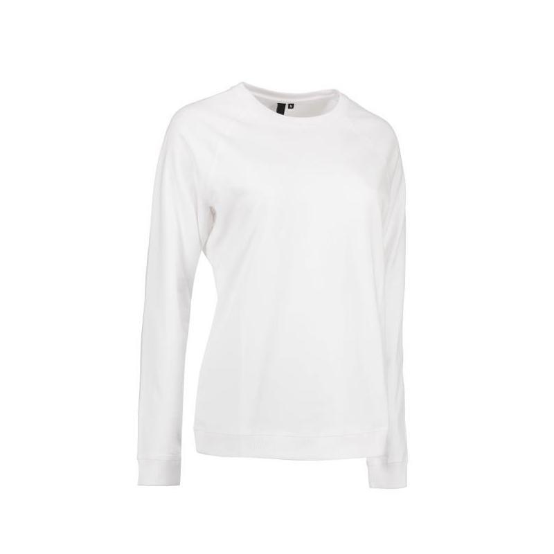 Heute im Angebot: Damen - Sweatshirt CORE O-Neck Sweat 616 von ID / Farbe: weiß / 50% BAUMWOLLE 50% POLYESTER