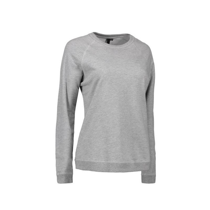 Heute im Angebot: Damen - Sweatshirt CORE O-Neck Sweat 616 von ID / Farbe: grau / 50% BAUMWOLLE 50% POLYESTER