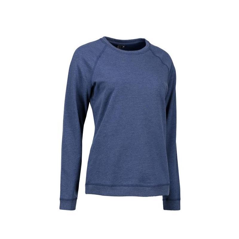 Heute im Angebot: Damen - Sweatshirt CORE O-Neck Sweat 616 von ID / Farbe: blau / 50% BAUMWOLLE 50% POLYESTER