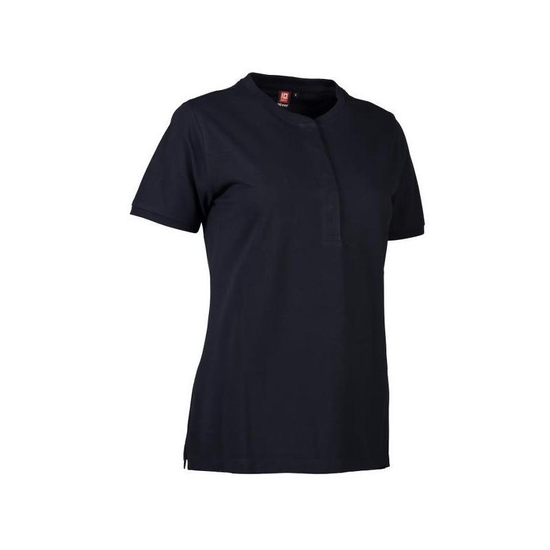 Heute im Angebot: PRO Wear CARE Damen Poloshirt 375 von ID / Farbe: navy / 50% BAUMWOLLE 50% POLYESTER in der Region Nauen