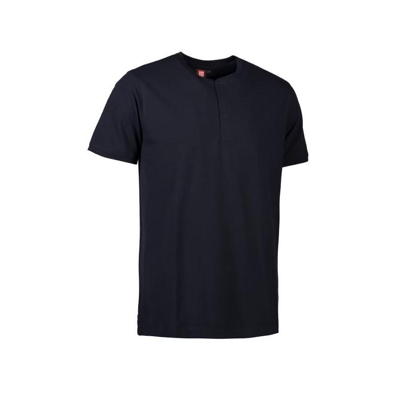 Heute im Angebot: PRO Wear CARE Herren Poloshirt 374 von ID / Farbe: navy / 50% BAUMWOLLE 50% POLYESTER