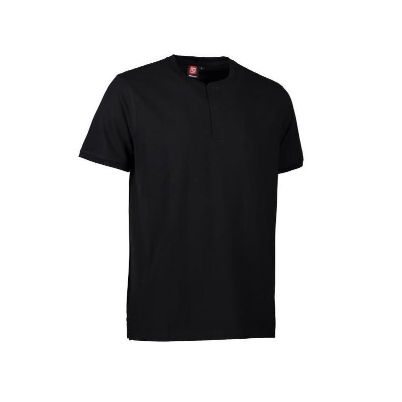 Heute im Angebot: PRO Wear CARE Herren Poloshirt 374 von ID / Farbe: schwarz / 50% BAUMWOLLE 50% POLYESTER in der Region kaufen