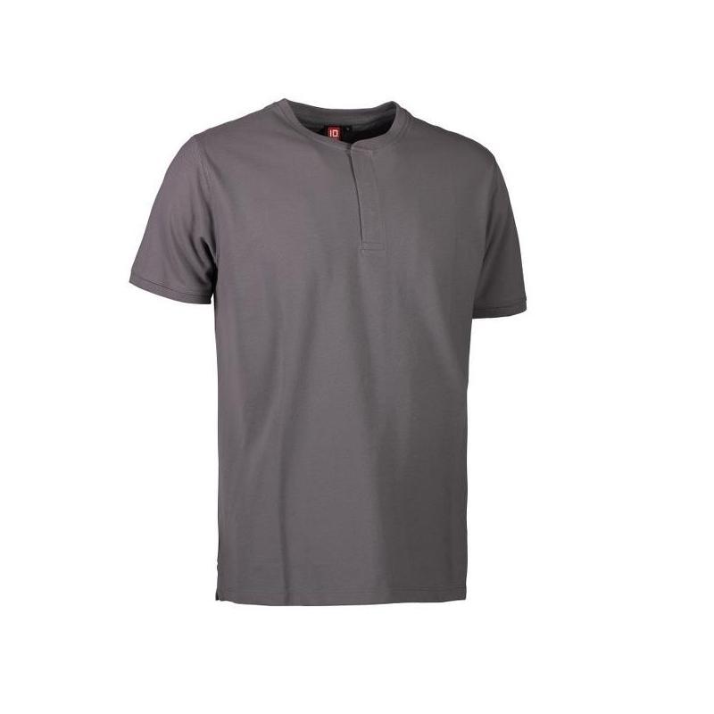 Heute im Angebot: PRO Wear CARE Herren Poloshirt 374 von ID / Farbe: grau / 50% BAUMWOLLE 50% POLYESTER