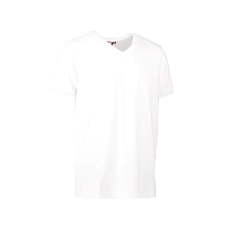 Heute im Angebot: PRO Wear CARE Herren T-Shirt 372 von ID / Farbe: weiß / 60% BAUMWOLLE 40% POLYESTER