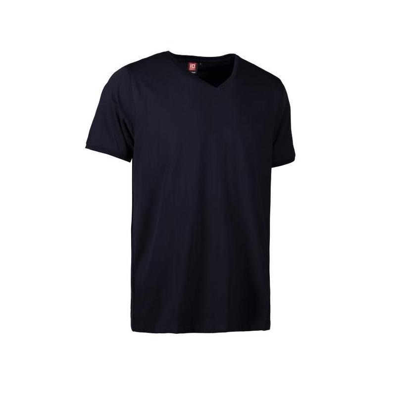 Heute im Angebot: PRO Wear CARE Herren T-Shirt 372 von ID / Farbe: navy / 60% BAUMWOLLE 40% POLYESTER