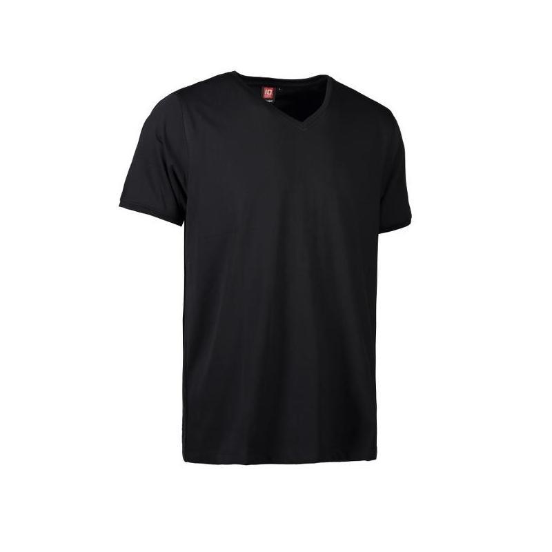 Heute im Angebot: PRO Wear CARE Herren T-Shirt 372 von ID / Farbe: schwarz / 60% BAUMWOLLE 40% POLYESTER in der Region kaufen