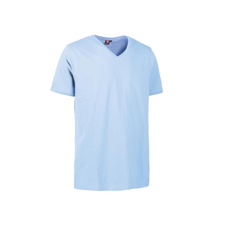 Heute im Angebot: PRO Wear CARE Herren T-Shirt 372 von ID / Farbe: hellblau / 60% BAUMWOLLE 40% POLYESTER in der Region kaufen