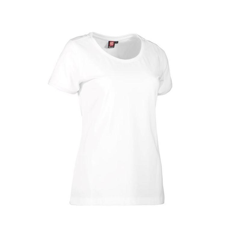 Heute im Angebot: PRO Wear CARE O-Neck Damen T-Shirt 371 von ID / Farbe: weiß / 60% BAUMWOLLE 40% POLYESTER jetzt günstig kaufen