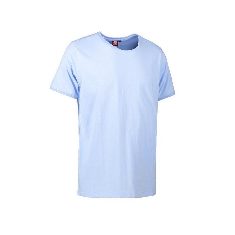 Heute im Angebot: PRO Wear CARE O-Neck Herren T-Shirt 370 von ID / Farbe: hellblau / 60% BAUMWOLLE 40% POLYESTER in der Region Bad Sarrow