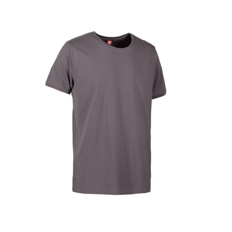 Heute im Angebot: PRO Wear CARE O-Neck Herren T-Shirt 370 von ID / Farbe: grau / 60% BAUMWOLLE 40% POLYESTER