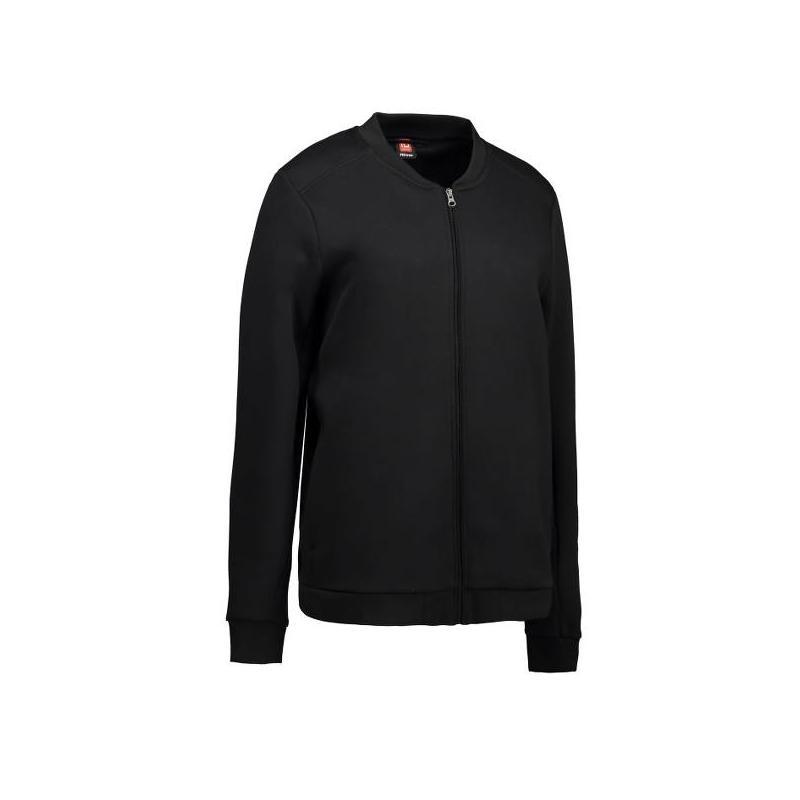 Heute im Angebot: PRO Wear Cardigan Damen 367 von ID / Farbe: schwarz / 60% BAUMWOLLE 40% POLYESTER