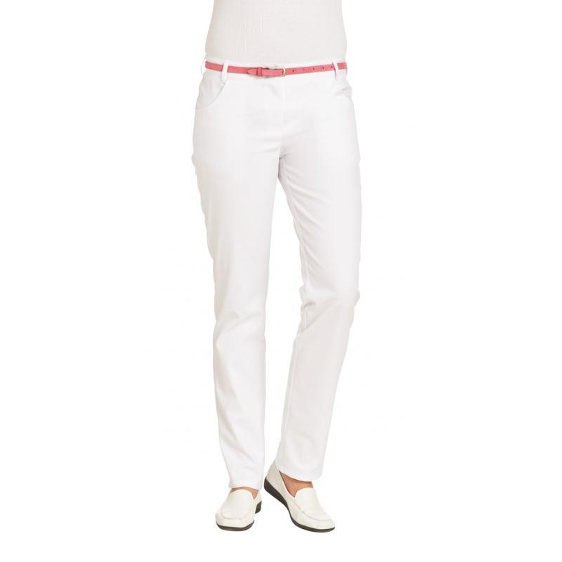 Heute im Angebot: Damenhose 7230 von LEIBER / Farbe: weiß / 63 % Polyester 34 % Baumwolle 3 % Elastolefin jetzt günstig kaufen