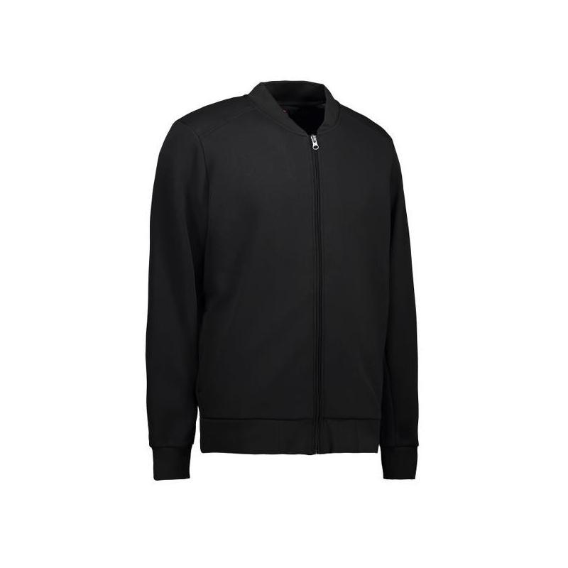 Heute im Angebot: PRO Wear Cardigan Herren 366 von ID / Farbe: schwarz / 60% BAUMWOLLE 40% POLYESTER