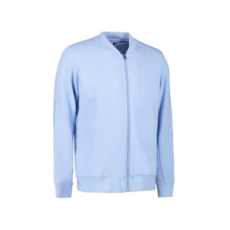 Heute im Angebot: PRO Wear Cardigan Herren 366 von ID / Farbe: hellblau / 60% BAUMWOLLE 40% POLYESTER