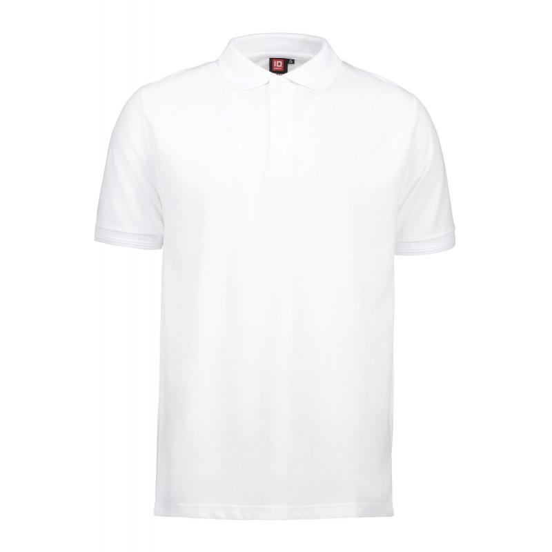 Heute im Angebot: PRO Wear Poloshirt Herren 330 von ID / Farbe: weiß / 50% BAUMWOLLE 50% POLYESTER jetzt günstig kaufen
