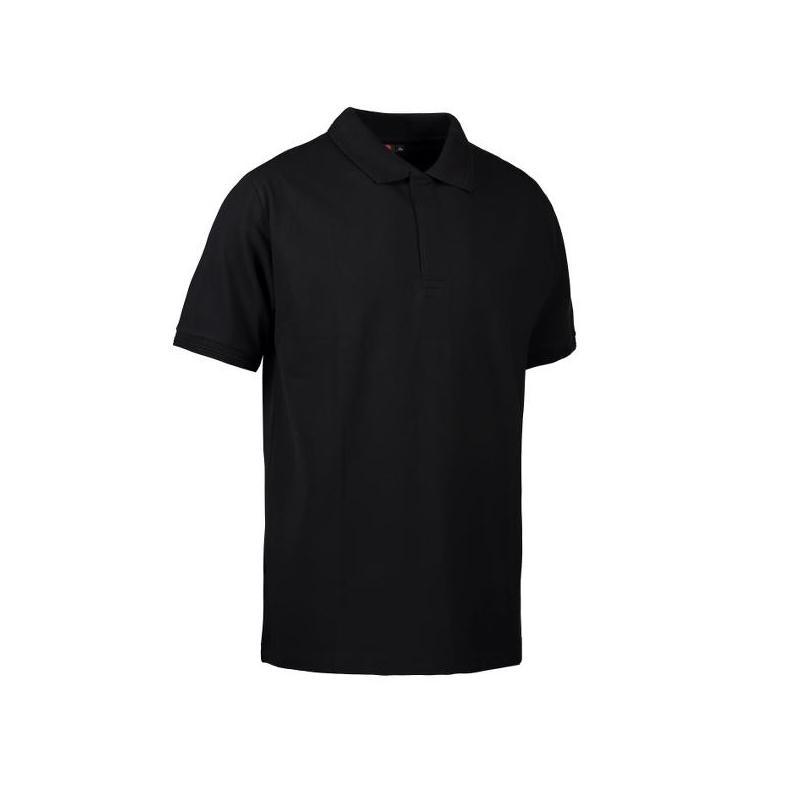 Heute im Angebot: PRO Wear Poloshirt Herren 330 von ID / Farbe: schwarz / 50% BAUMWOLLE 50% POLYESTER jetzt günstig kaufen