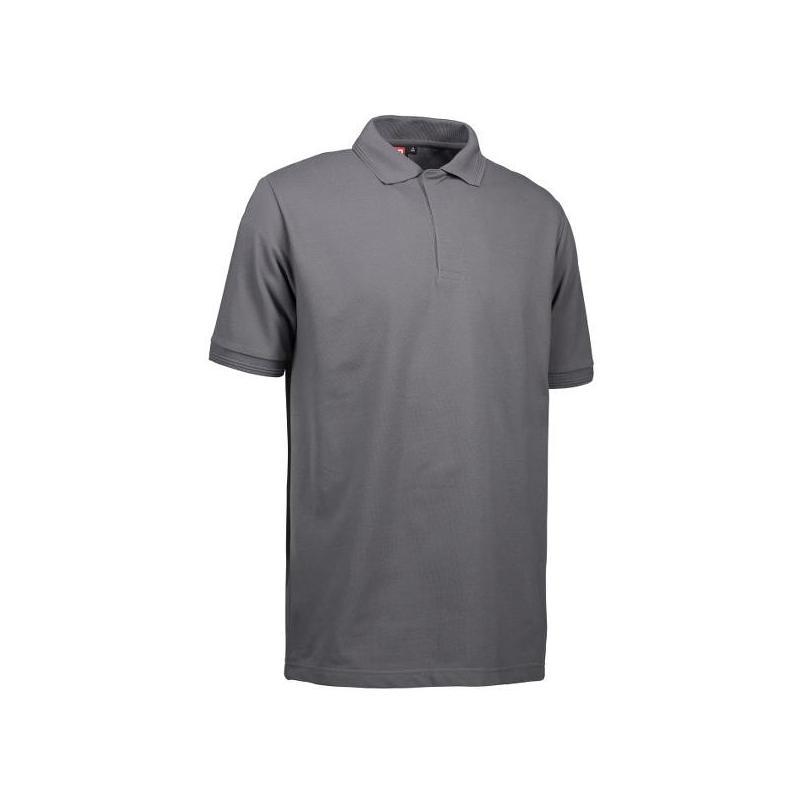 Heute im Angebot: PRO Wear Poloshirt Herren 330 von ID / Farbe: grau / 50% BAUMWOLLE 50% POLYESTER in der Region kaufen
