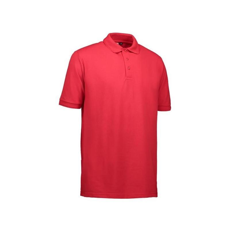 Heute im Angebot: PRO Wear Herren Poloshirt | ohne Tasche 324 von ID / Farbe: rot / 50% BAUMWOLLE 50% POLYESTER jetzt günstig kaufen