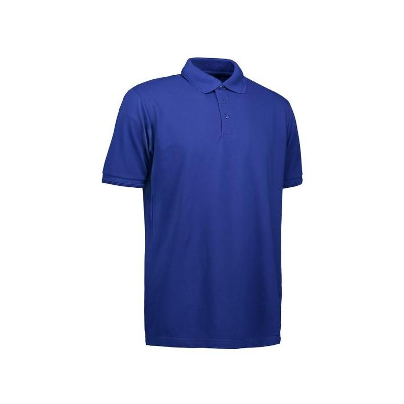 Heute im Angebot: PRO Wear Herren Poloshirt | ohne Tasche 324 von ID / Farbe: königsblau / 50% BAUMWOLLE 50% POLYESTER