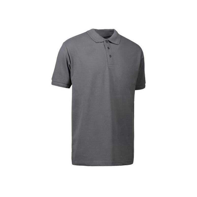 Heute im Angebot: PRO Wear Herren Poloshirt | ohne Tasche 324 von ID / Farbe: grau / 50% BAUMWOLLE 50% POLYESTER in der Region kaufen