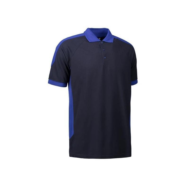 Heute im Angebot: PRO Wear Herren Poloshirt 322 von ID / Farbe: navy / 50% BAUMWOLLE 50% POLYESTER