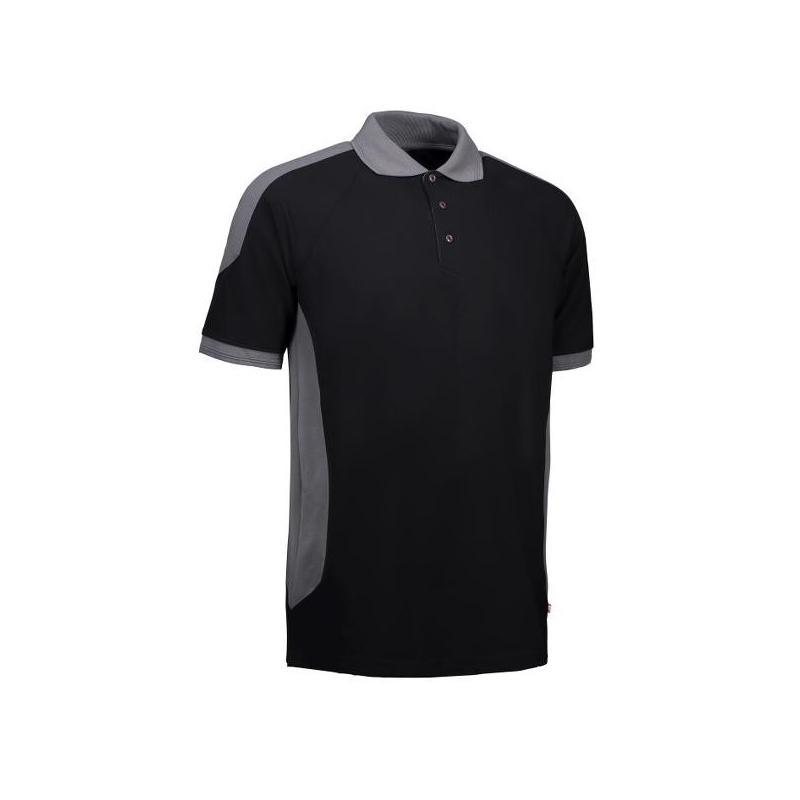 Heute im Angebot: PRO Wear Herren Poloshirt 322 von ID / Farbe: schwarz / 50% BAUMWOLLE 50% POLYESTER jetzt günstig kaufen