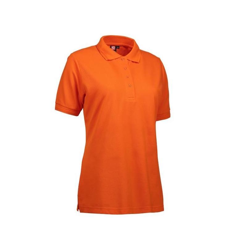Heute im Angebot: PRO Wear Damen Poloshirt 321 von ID / Farbe: orange / 50% BAUMWOLLE 50% POLYESTER jetzt günstig kaufen