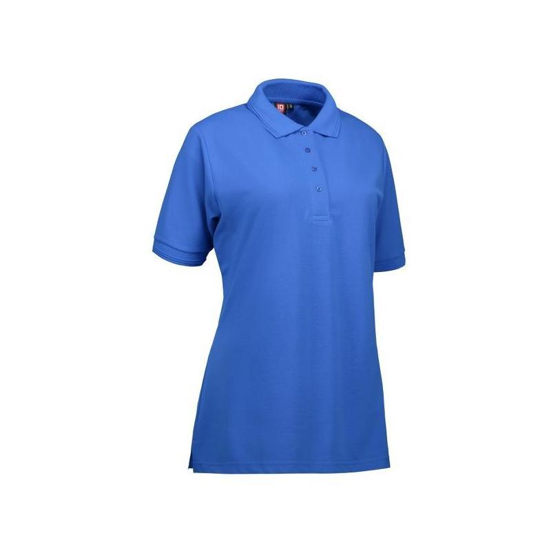 Heute im Angebot: PRO Wear Damen Poloshirt 321 von ID / Farbe: azur / 50% BAUMWOLLE 50% POLYESTER in der Region Marburg