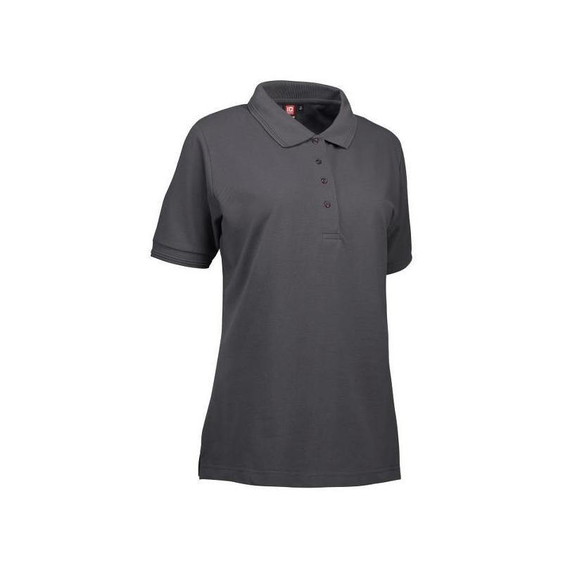 Heute im Angebot: PRO Wear Damen Poloshirt 321 von ID / Farbe: koks / 50% BAUMWOLLE 50% POLYESTER