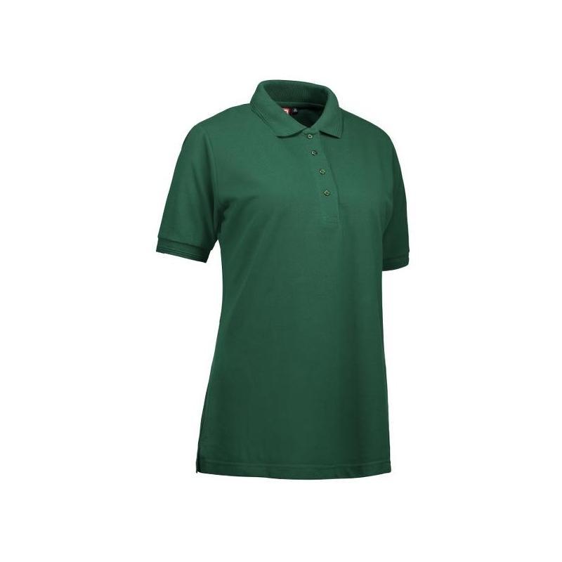 Heute im Angebot: PRO Wear Damen Poloshirt 321 von ID / Farbe: grün / 50% BAUMWOLLE 50% POLYESTER jetzt günstig kaufen